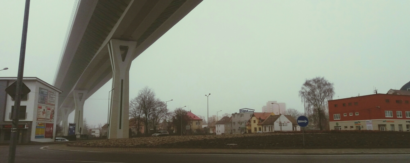 Photo of an overpass in Slovakia