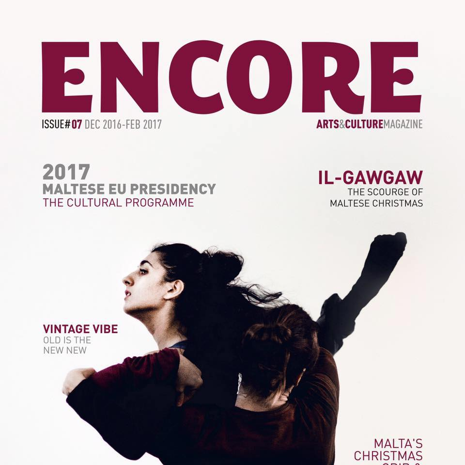 Encore Arts and Culture Cover