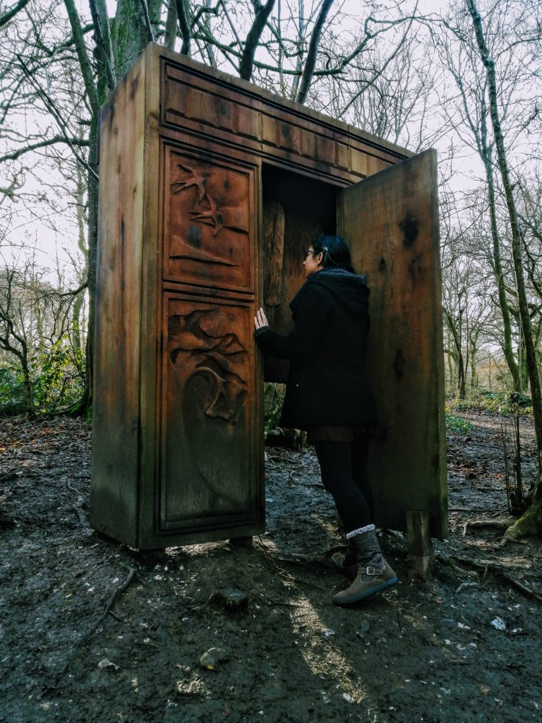 Stepping through the wardrobe in Banstead Forest