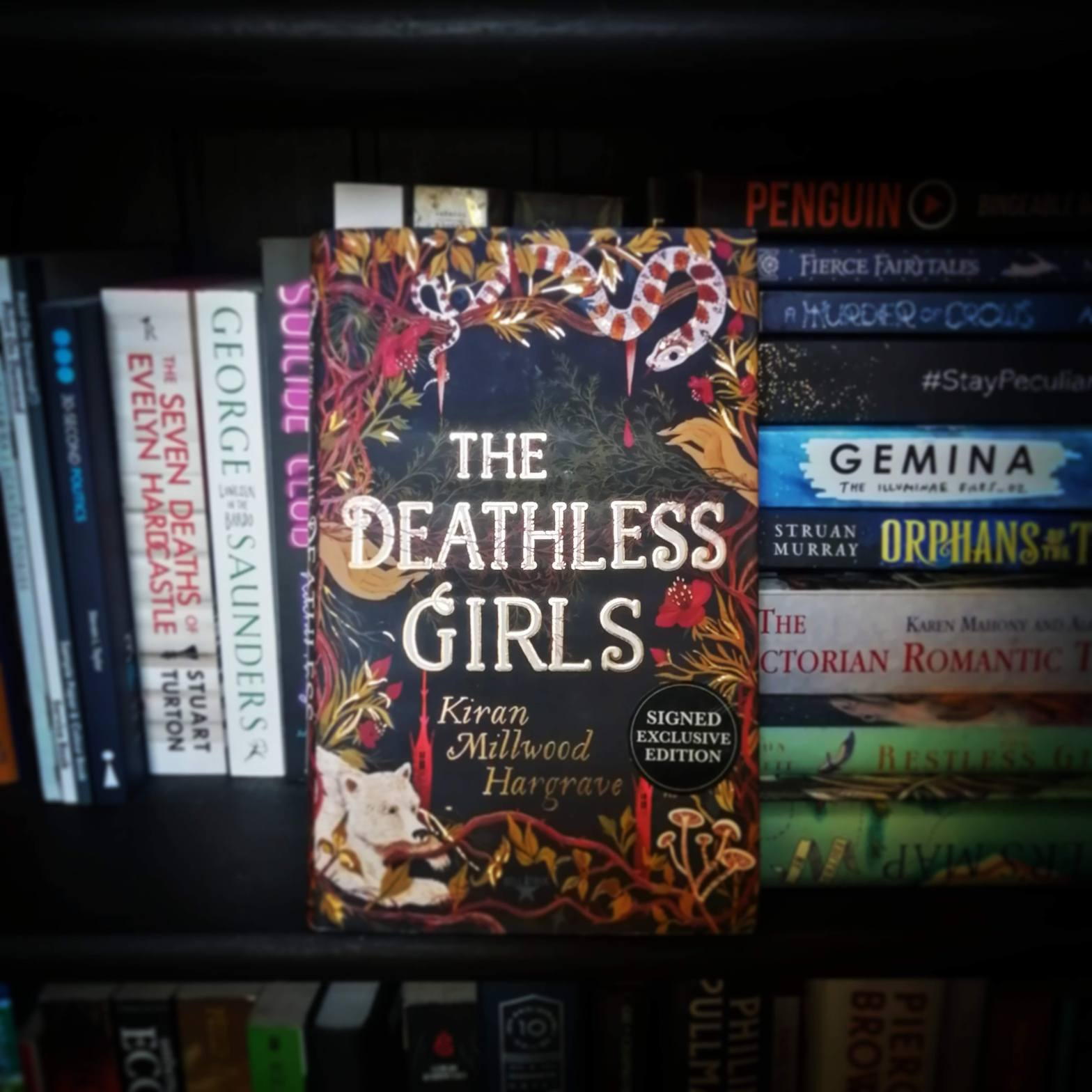 Cover of The Deathless Girls Book