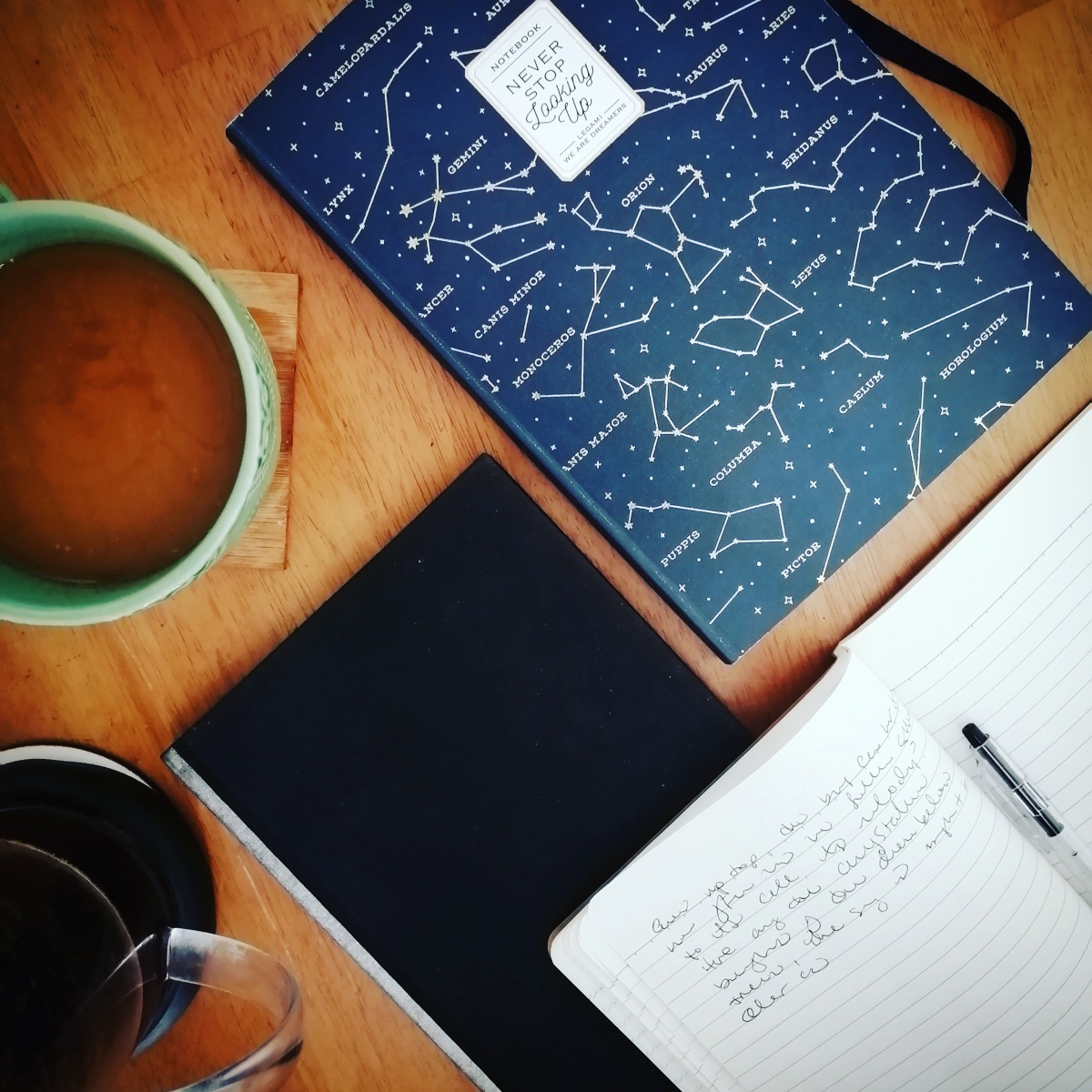 notebooks and news